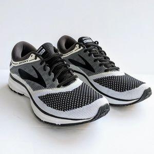 Brooks Revel Running Shoes Mens Sz 10 Black White